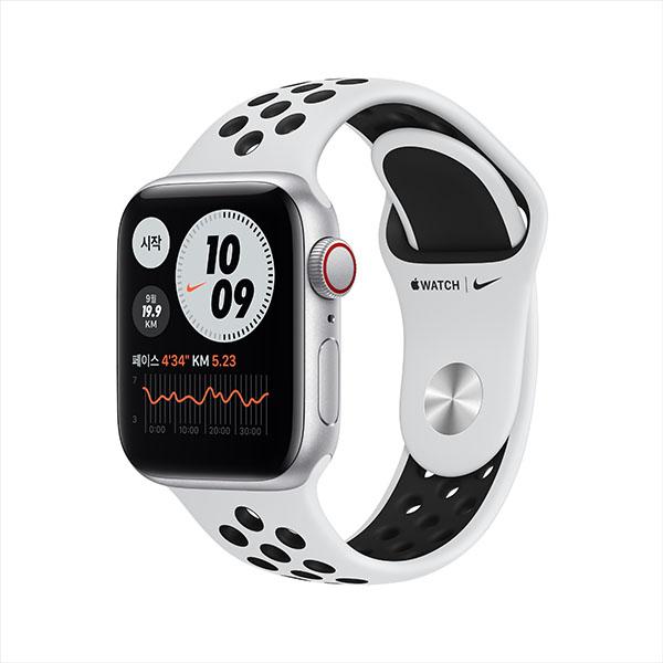 [apple]애플워치 나이키 SE GPS, 40mm 실버 알루미늄 케이스