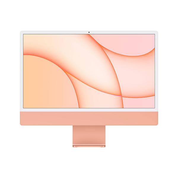 [Apple]아이맥 24형 M1칩 2021년형 오렌지(M1/8C CPU/8C GPU/8GB/512GB)-CTO 상품☞주문제작 약 4주이상 소요