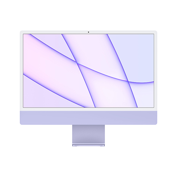 [Apple]아이맥 24형 M1칩 2021년형 퍼플(M1/8C CPU/8C GPU/8GB/256GB)-CTO 상품☞주문제작 상품